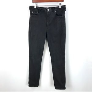 Agolde |  Roxanne Super Hi Rise Skinny Jeans Black